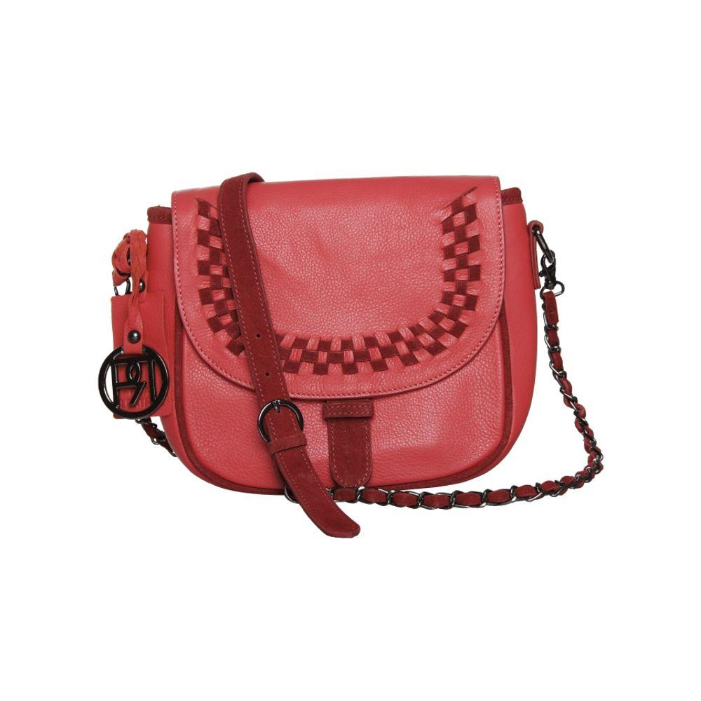Women's Leather Crossbody Bag - PR948