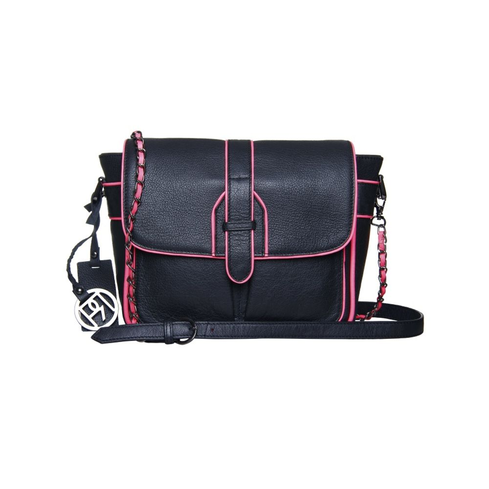 Women's Leather Crossbody Bag - PR949
