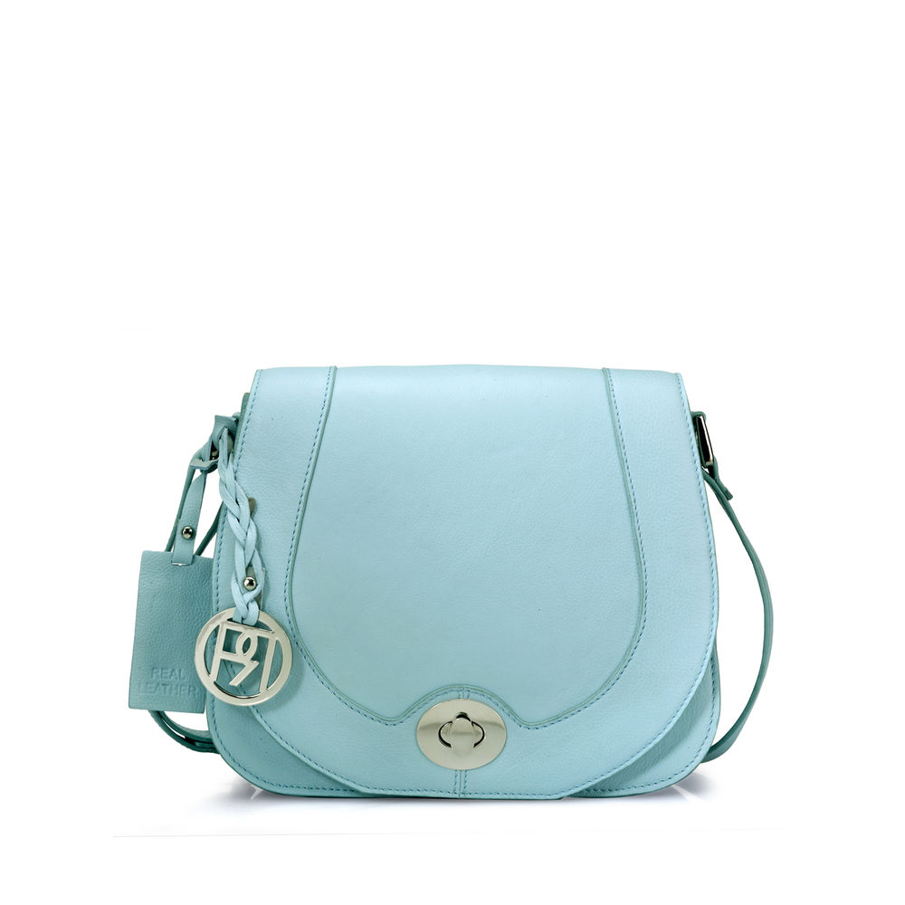 Women's Leather Crossbody Bag - PR961