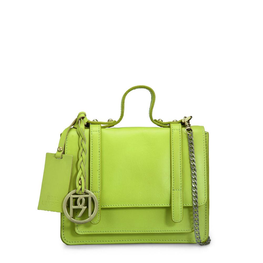 Women's Leather Sling Bag - PR964