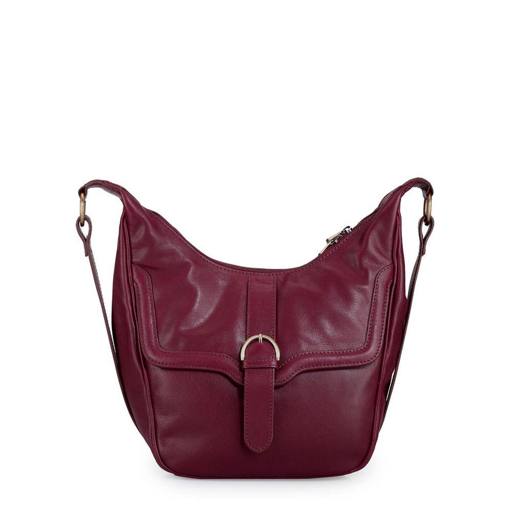 Women's Leather Crossbody Bag - PR970
