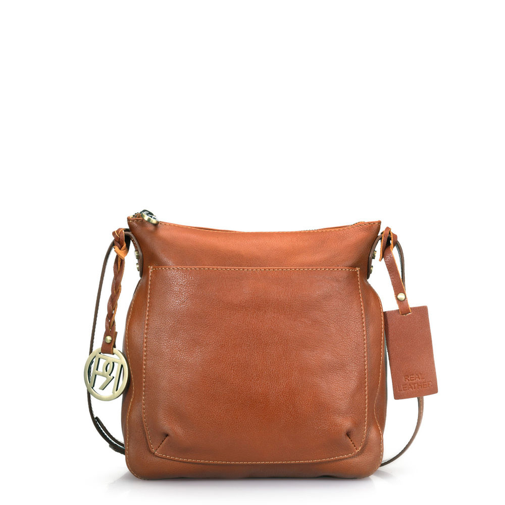 Women's Leather Crossbody Bag - PR974