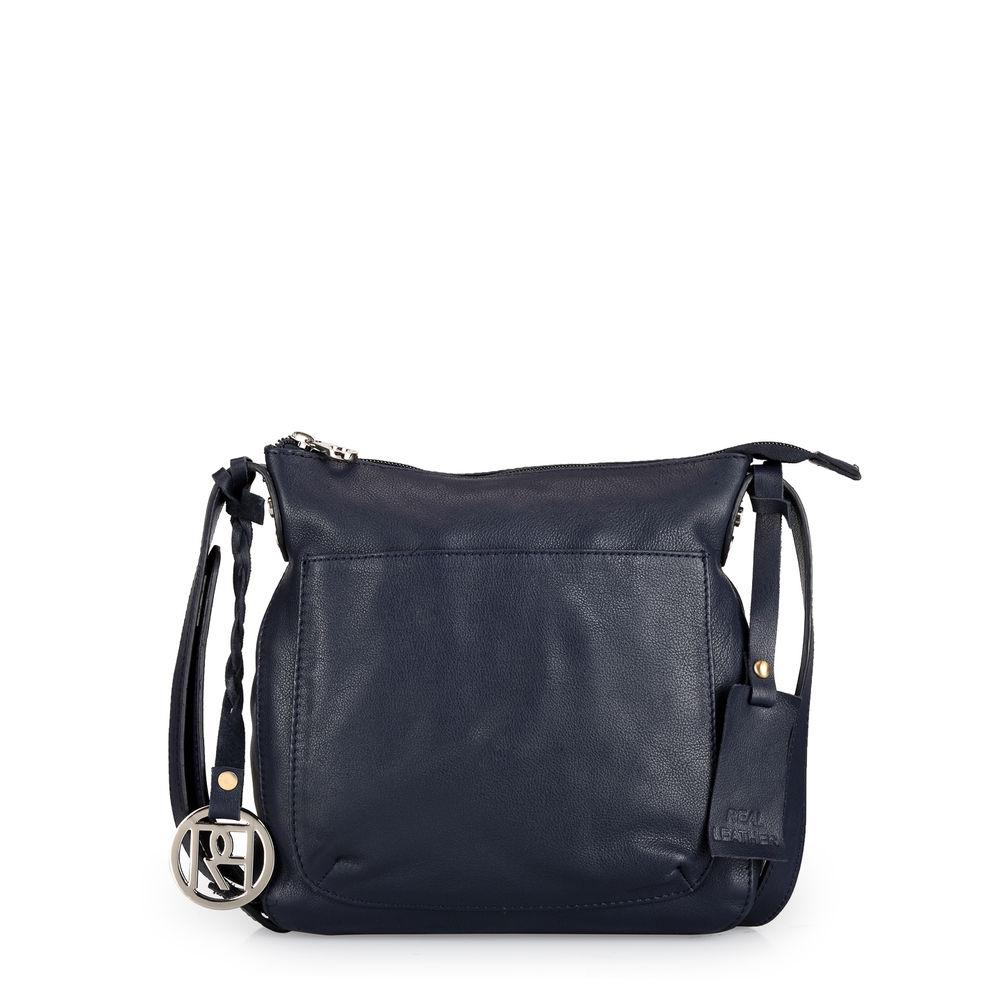 Women's Leather Crossbody Bag - PR975
