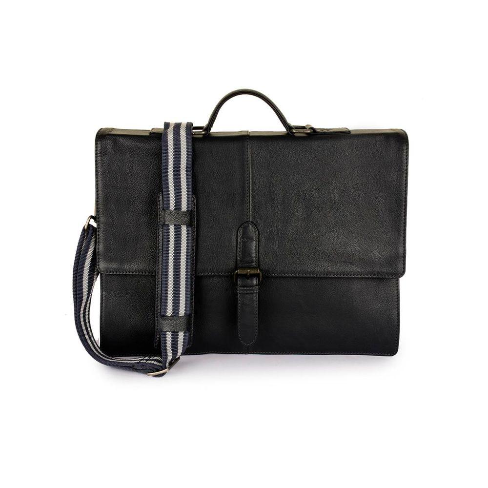 Men's Leather Messenger Bag - PRM1298