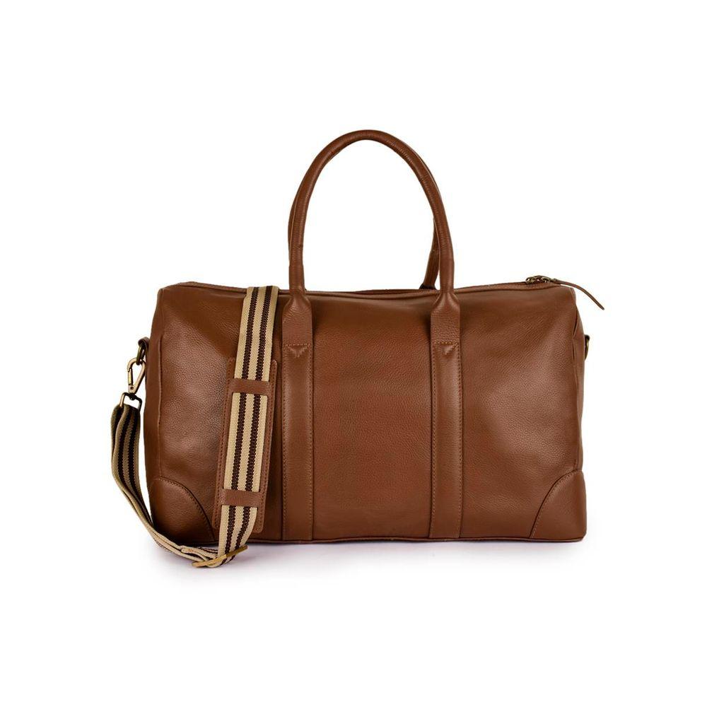Men's Leather Travel Duffel Bag  - PRM1300
