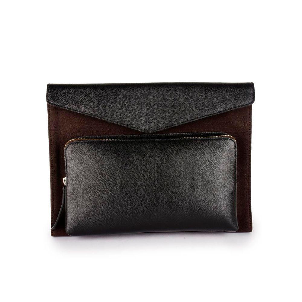 Men's Leather Laptop Sleeve - PRM1307