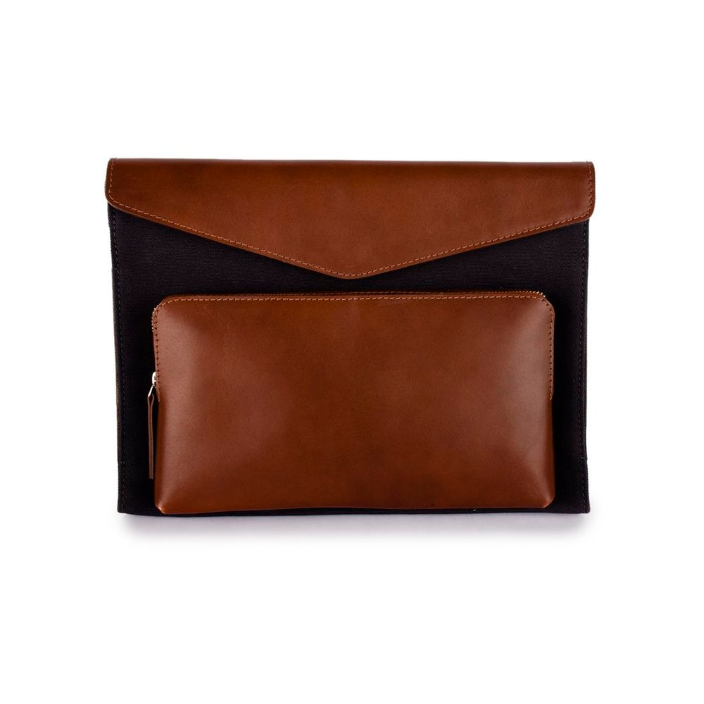 Men's Leather Laptop Sleeve - PRM1309