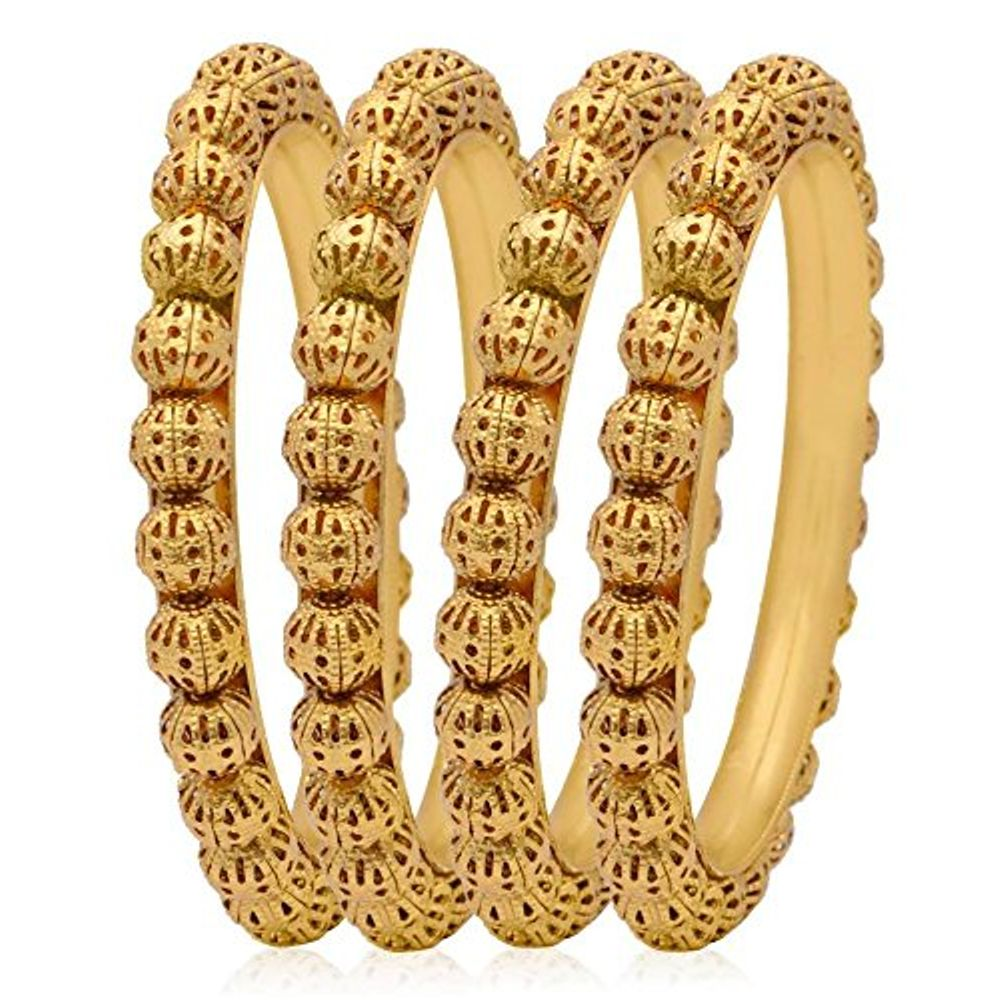 dsc bangles ladies sz products set tone tri ways gold