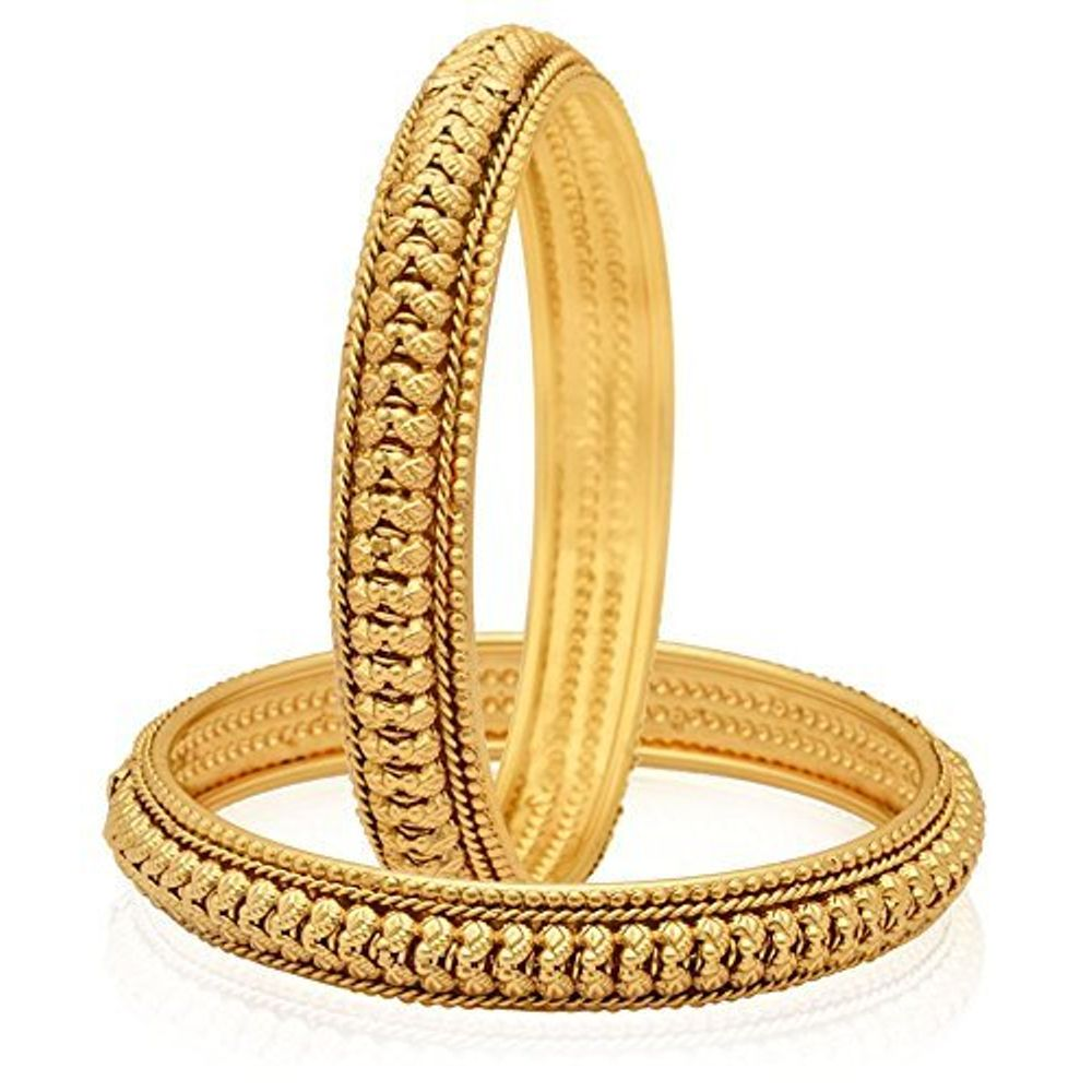 Youbella Gold Plated Bangles Jewellery For Girls And Women ...