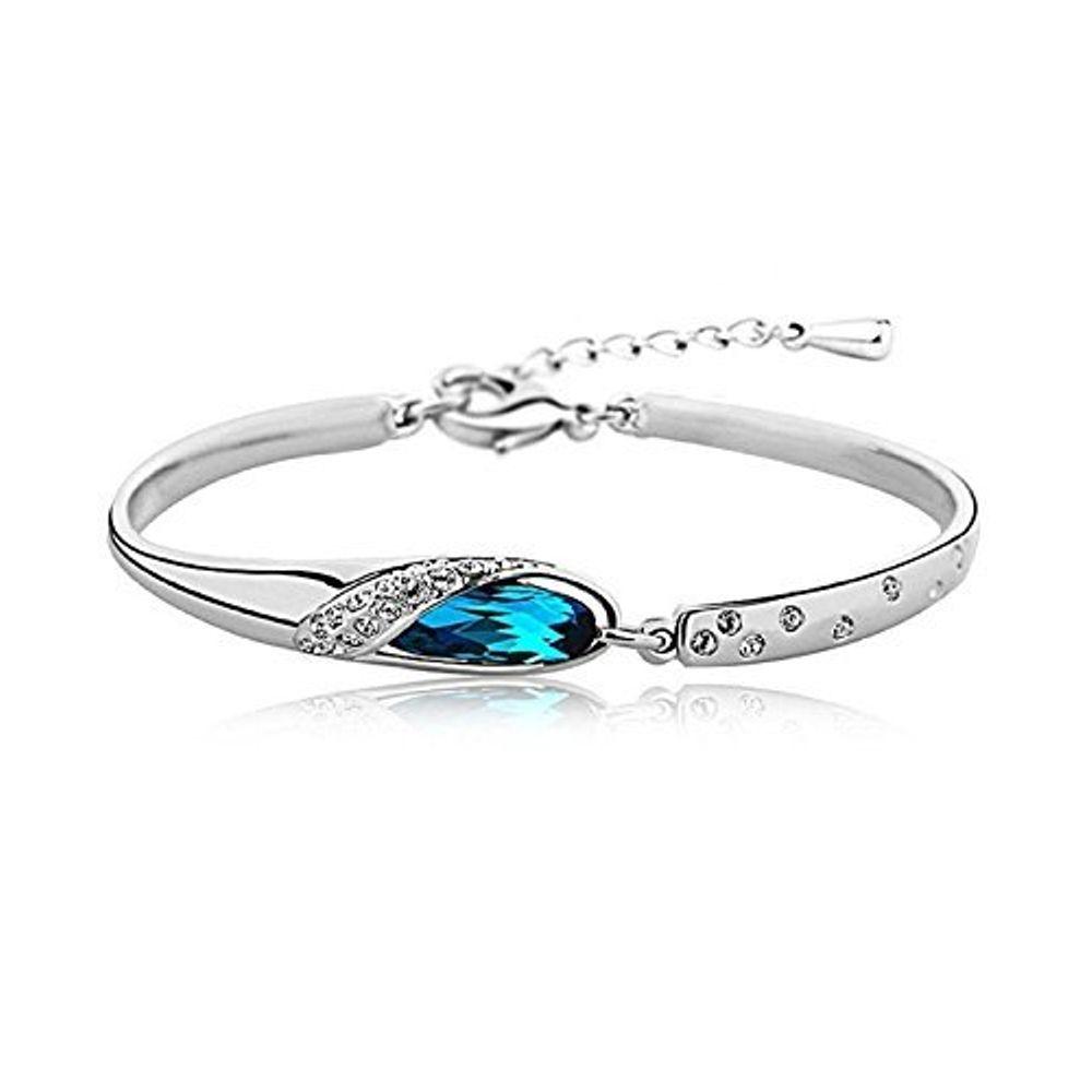 Youbella Jewellery Designer Crystal Bangle Bracelet For Girls ...