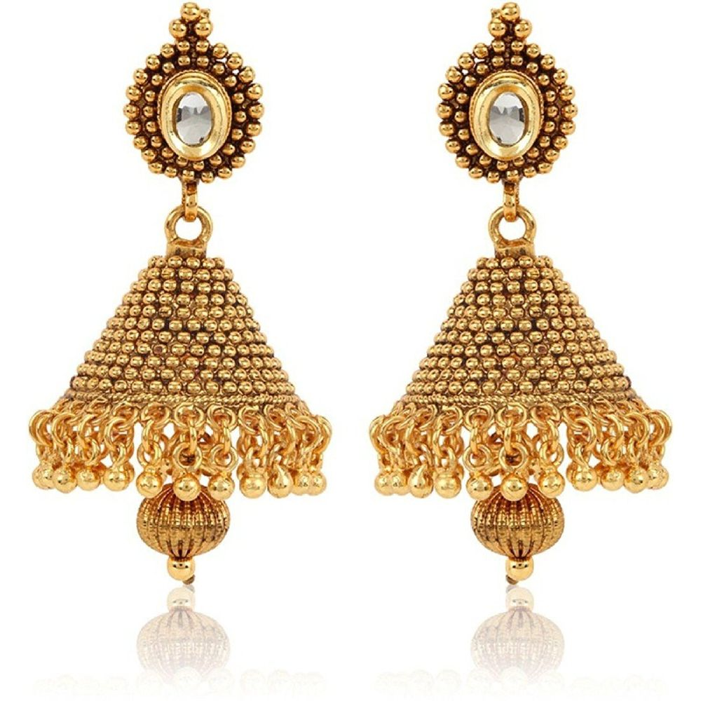 Youbella Traditional Gold Plated Jewellery Kundan Fancy Party Wear ...