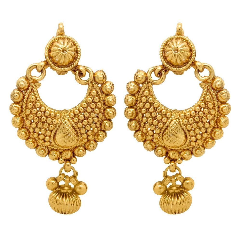 Buy Gold Plated Fancy Party Wear Earrings for Girls and Women ...