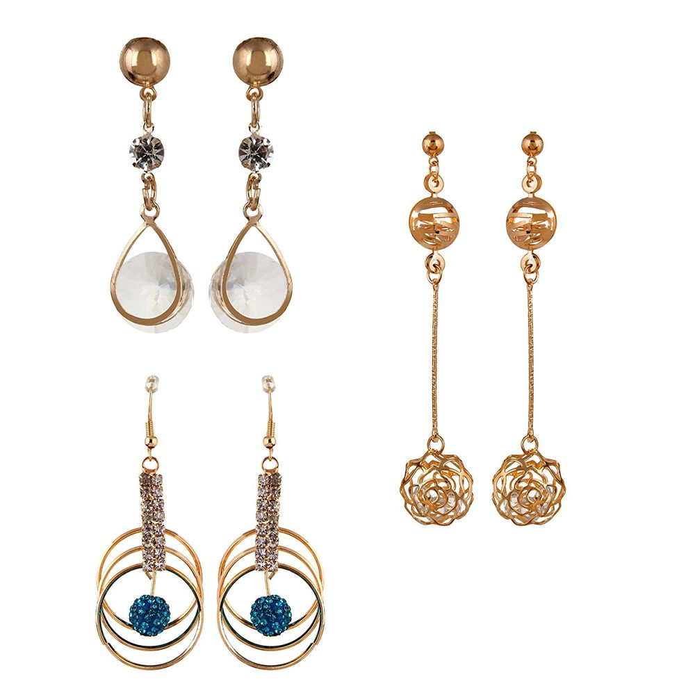Youbella Presents Lamore Collection Crsytal Jewellery Earrings For ...
