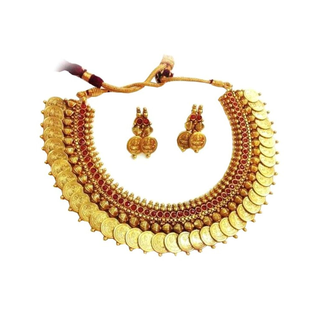 Buy Designer Gold Plated Necklaces Online @ Youbella