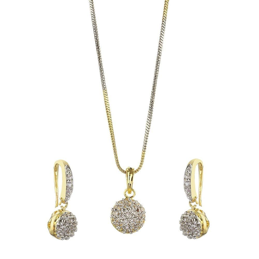 buy american pendent set for at youbella