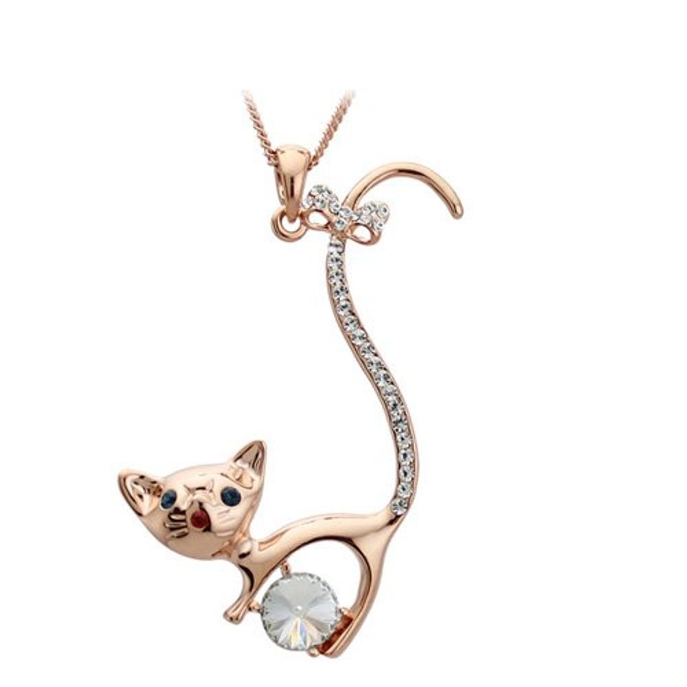 Buy gracias collection designer cat pendant for women online youbella zoom aloadofball Image collections