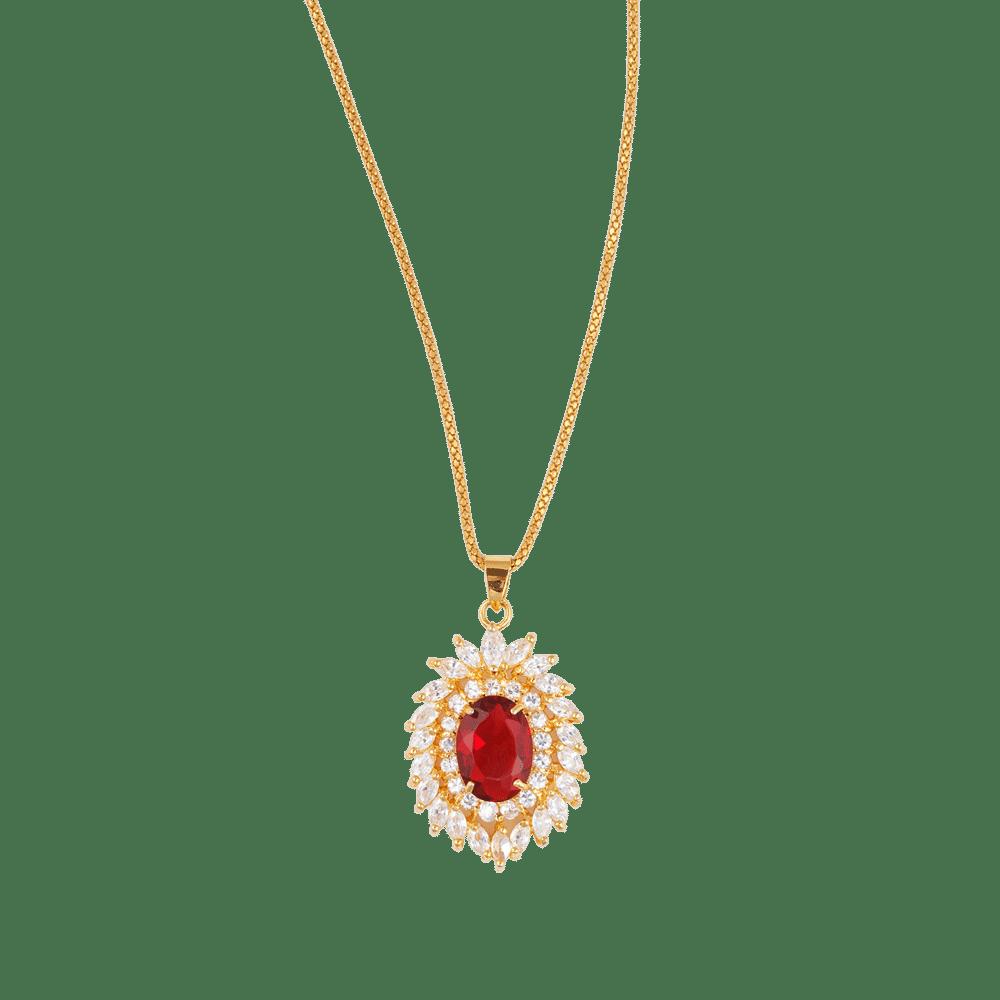Beautiful garnet diamond pendant fcsp0001 facets57 beautiful garnet diamond pendant aloadofball Image collections