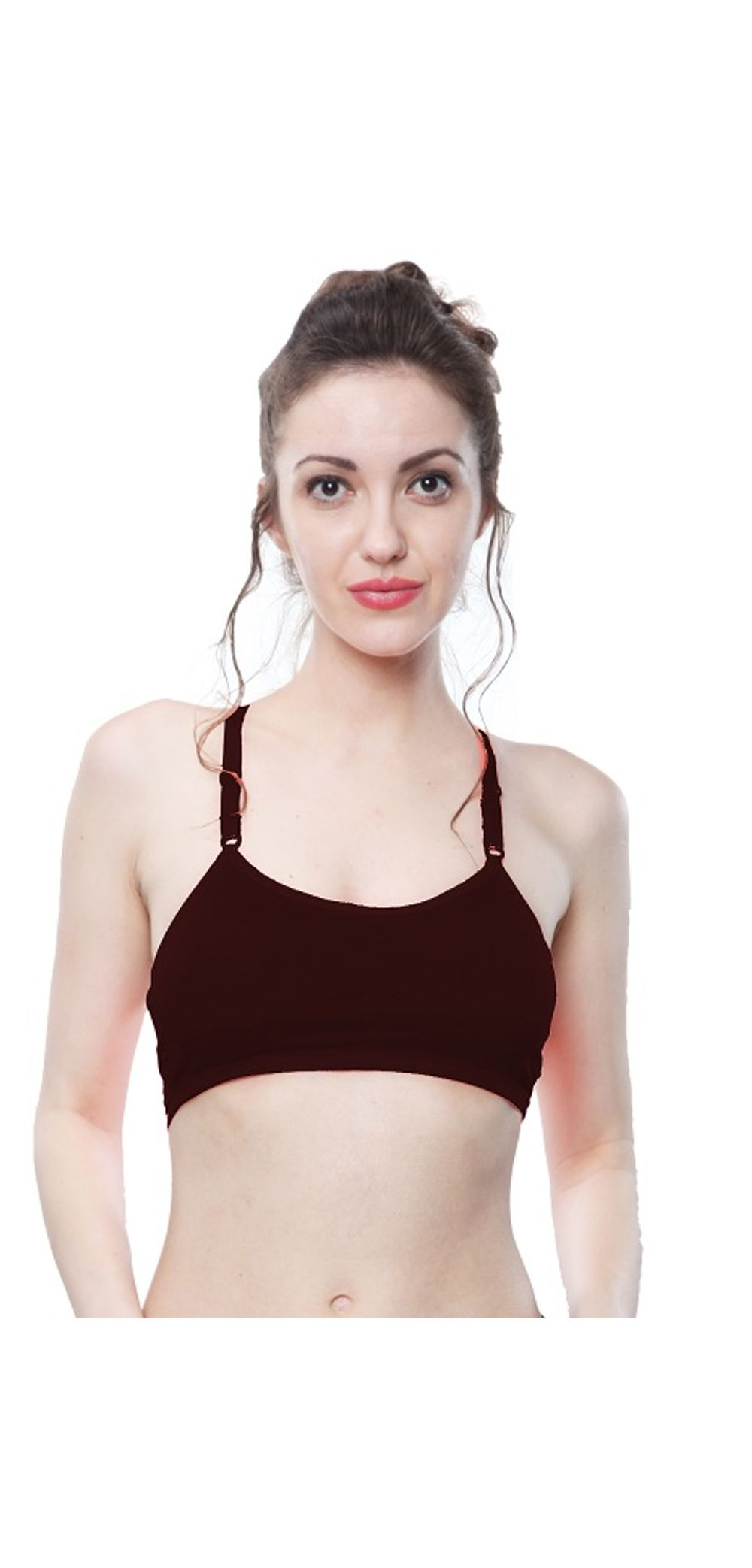 2c162aac2e sold-out-image Glus Sports   Yoga   Home wear Racer Back Pull On Padded  Bralette