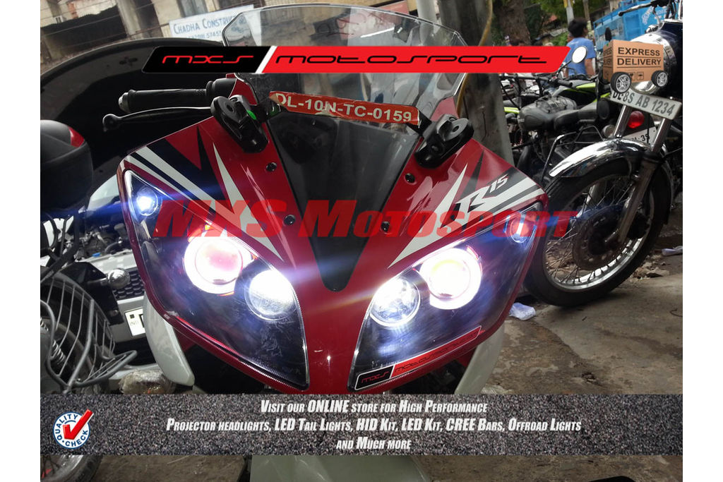 R15 V2 Modified With Projector Lights MXSHL188 Projector Hea...