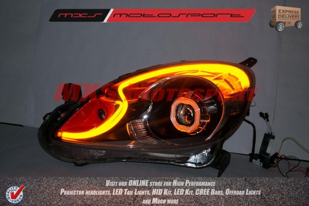 Mxs1952 Honda Mobilio Headlights Audi Style Day Running Light