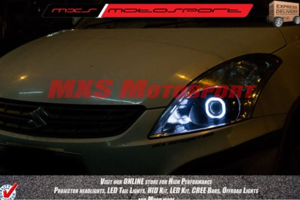 Mxshl152 Square Eye Projector Headlight Maruti Suzuki