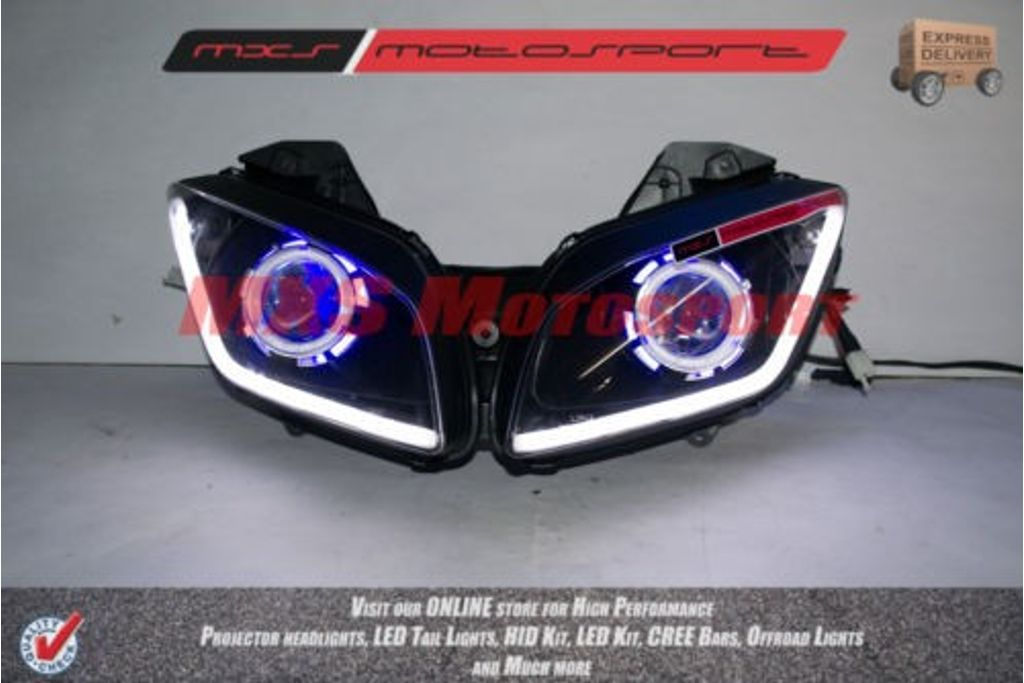 R15 V2 Modified With Projector Lights Mxs Motosport Robtici ...