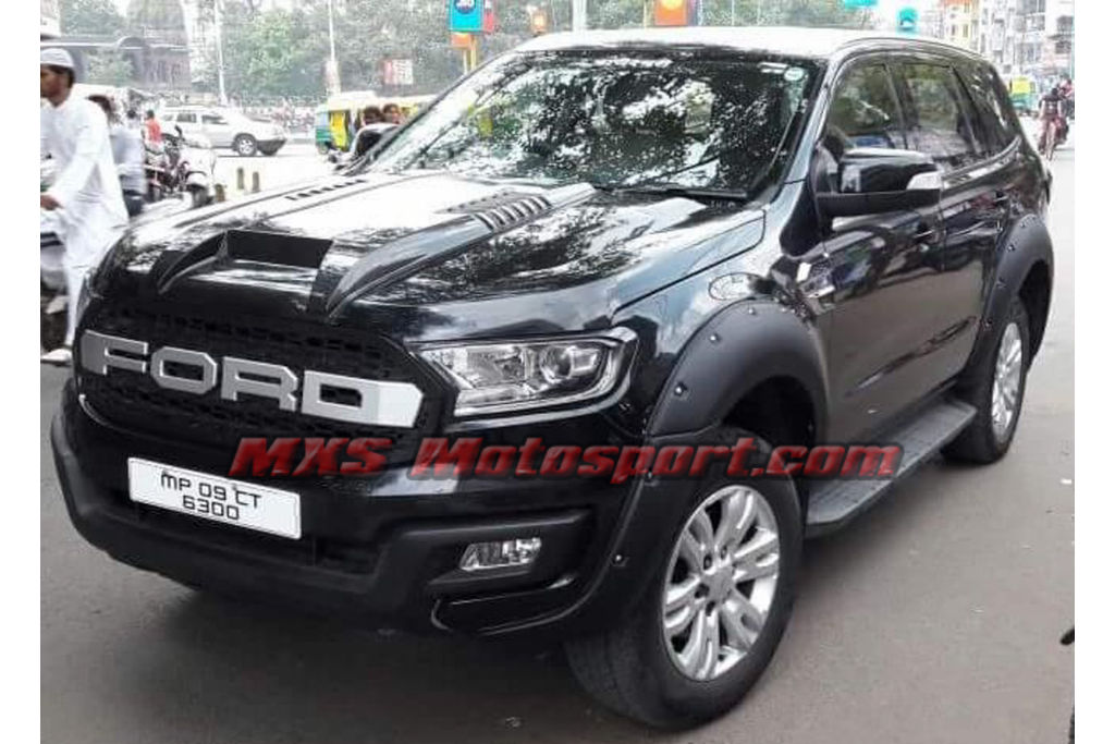 MXS2539 Bonnet Scoop Ford Endeavour Everest 2016 2017