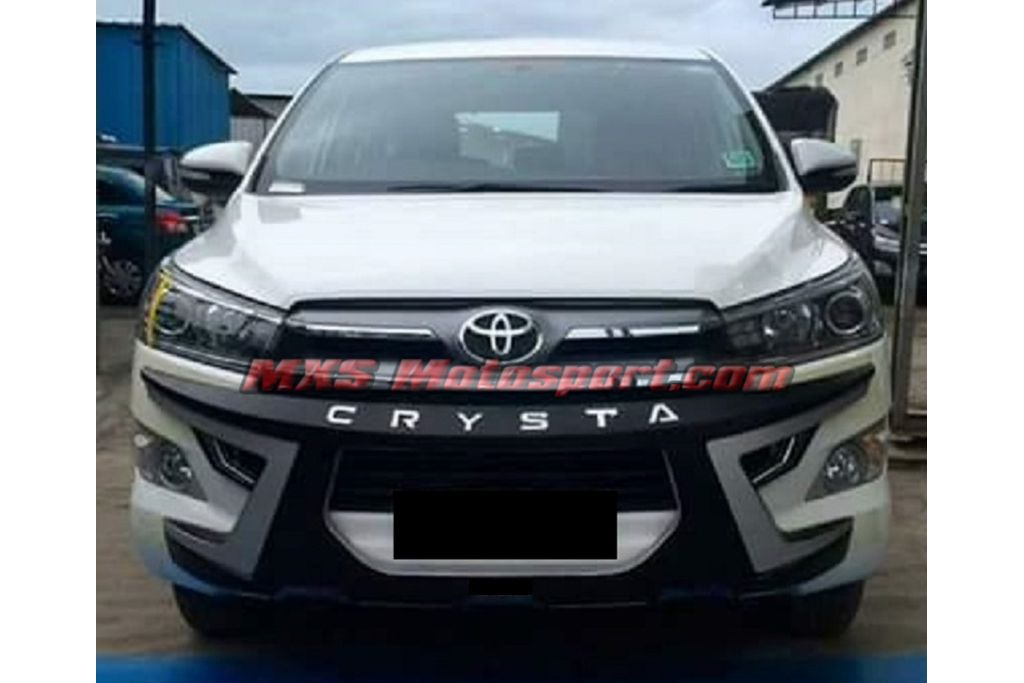 Mxs2553 Toyota Innova Crysta Front And Rear Diffuser