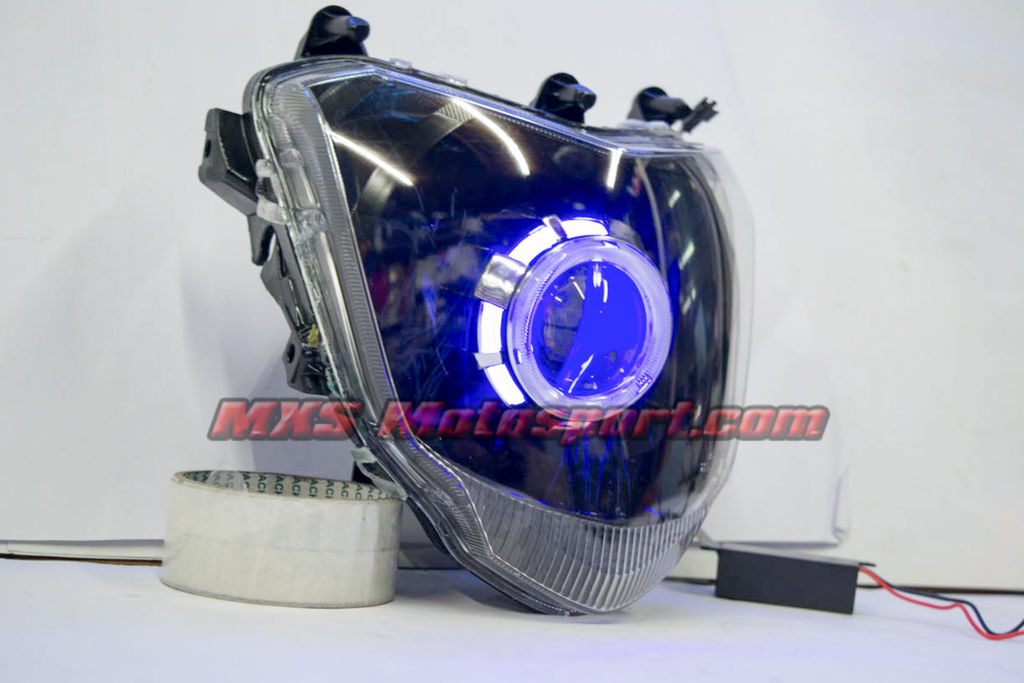 Aftermarket Jeep Parts >> Mxs Motosport Robotic Eye Projector Headlight Yamaha Fz Fzs | Mxs048