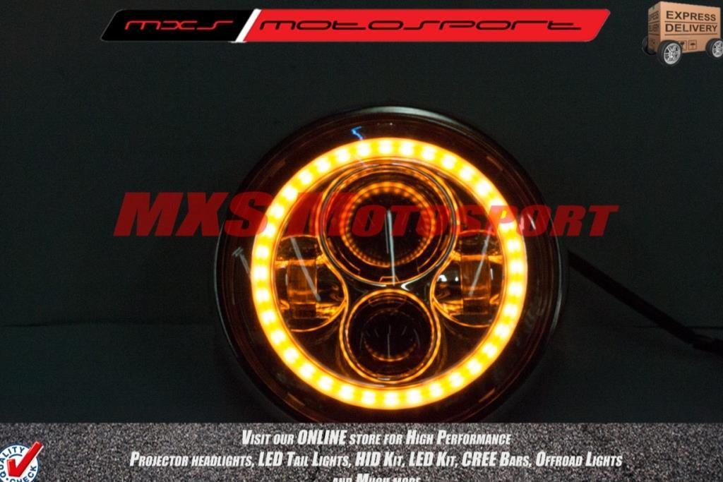Mxshl172 Led Monster Projector Headlight For Royal Enfield
