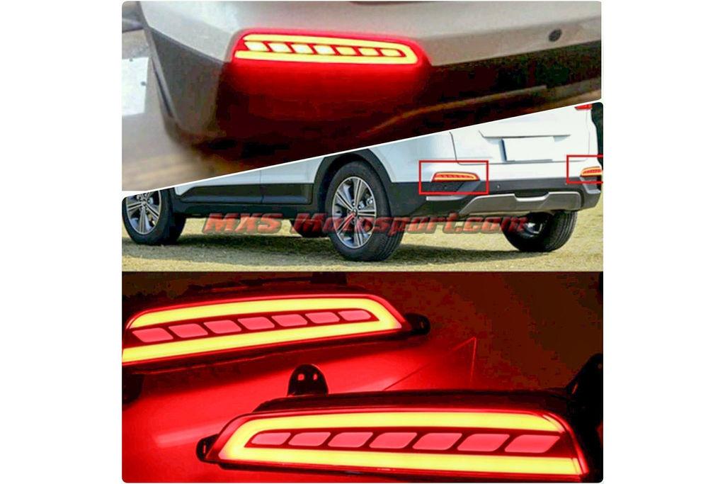 Mxstl72 Led Tail Lights Hyundai Creta For Rear Bumper