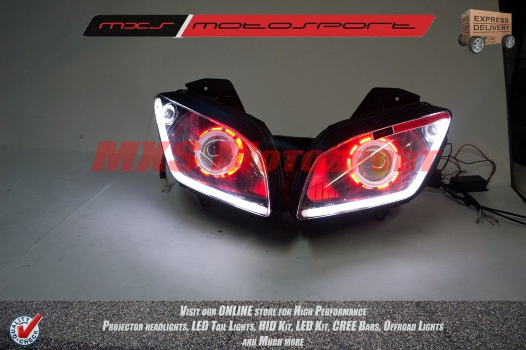 R15 V2 Modified With Projector Lights Mxshl146 Robtici Eye P...