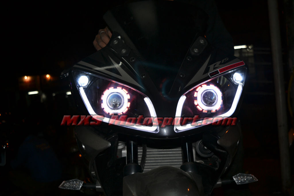 R15 V2 Modified With Projector Lights MXSHL145 Robtici Eye P...