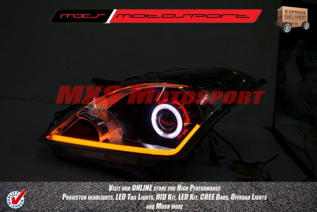 Mxshl57 Round Robitic Eye Projector Headlight With Drl