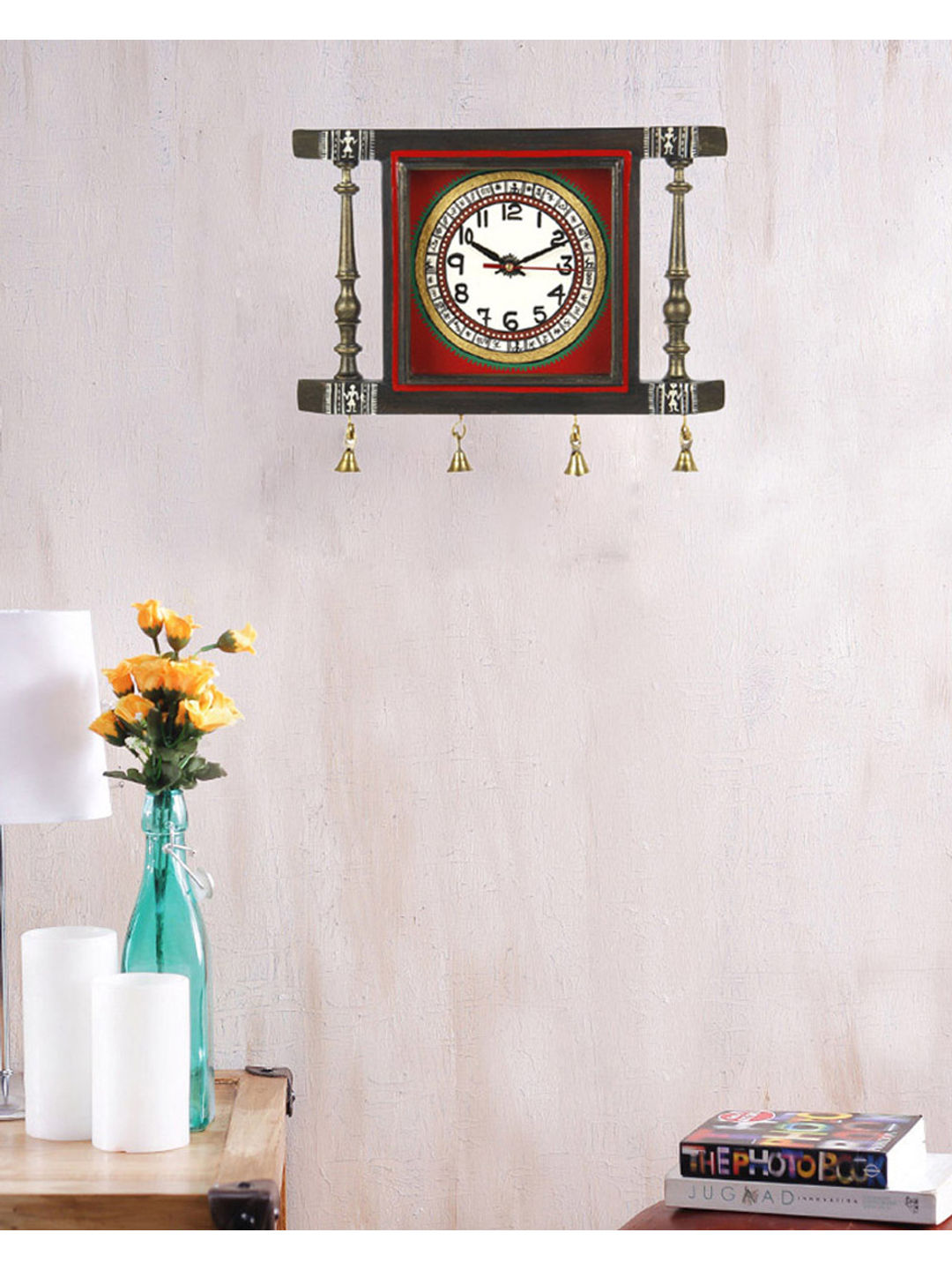 Antique Brown Wall Clock