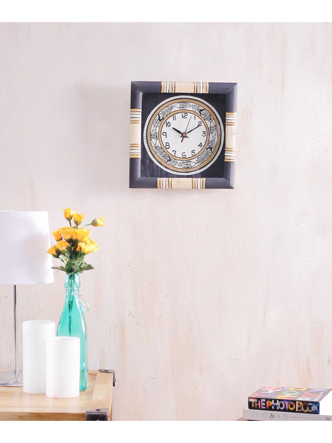 Black Fish Handcrafted Wall Clock