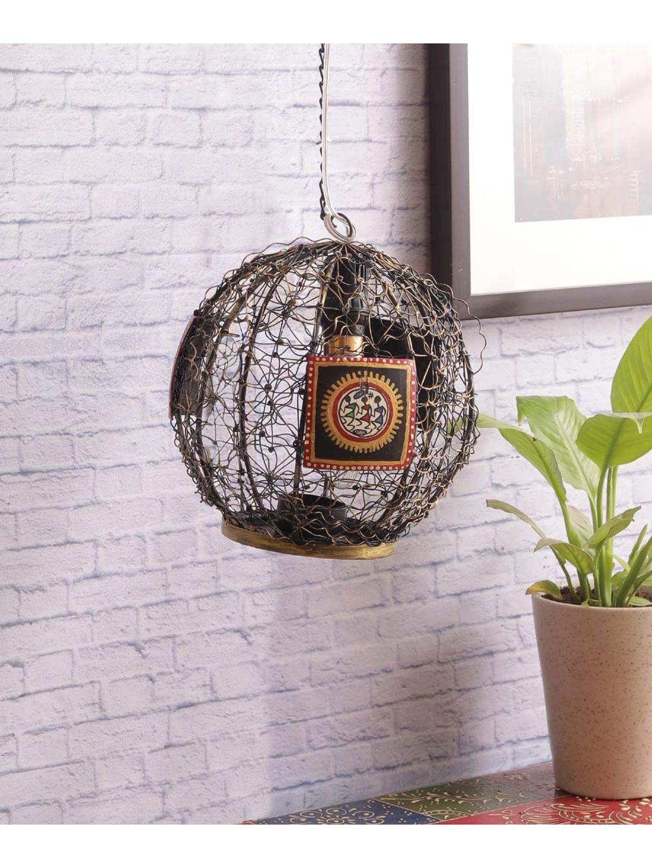 Classy Gold Black Iron Pendant Lamp