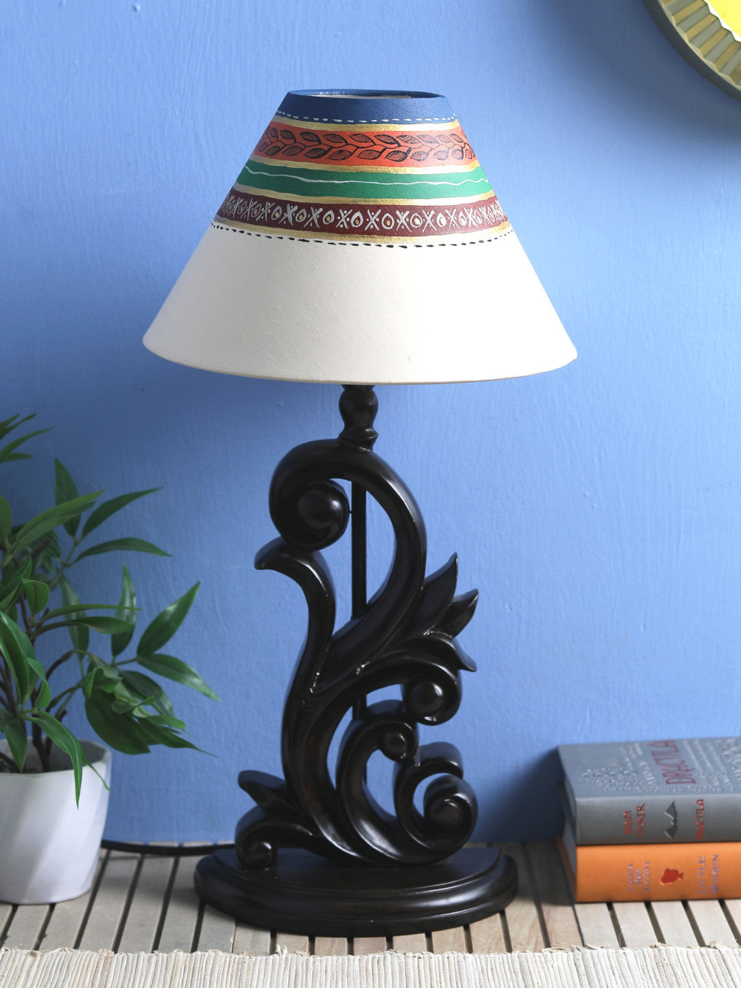 Hand Made Cream 10 Inch Lamp Shade
