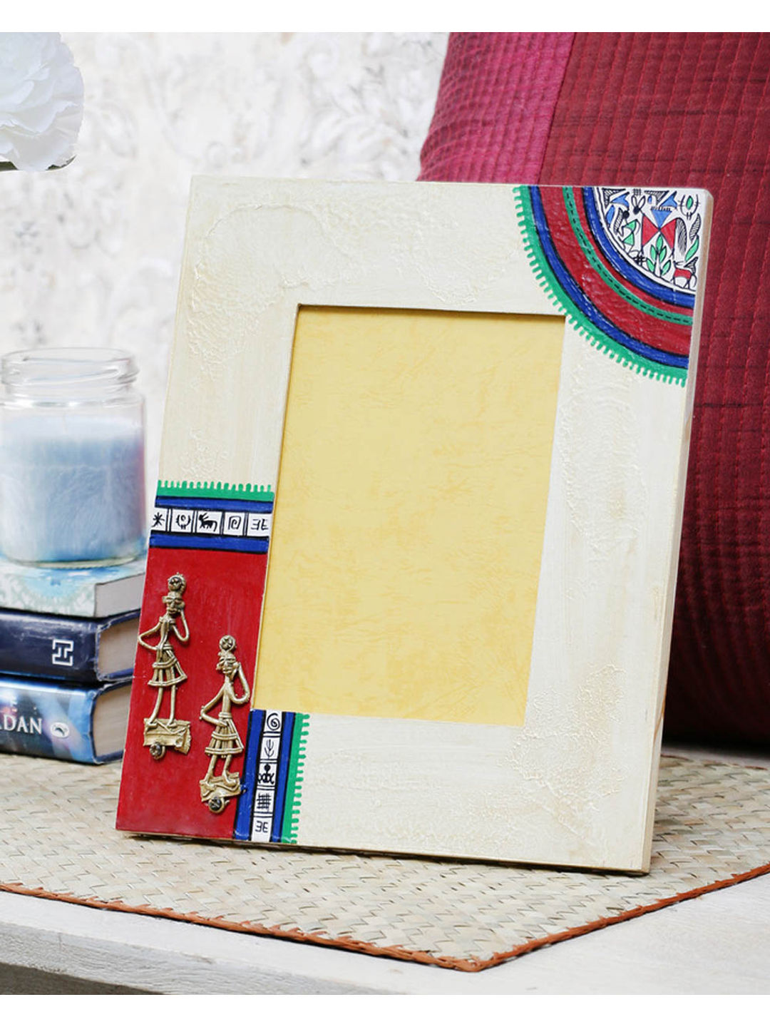Dhokra Gold Photoframe