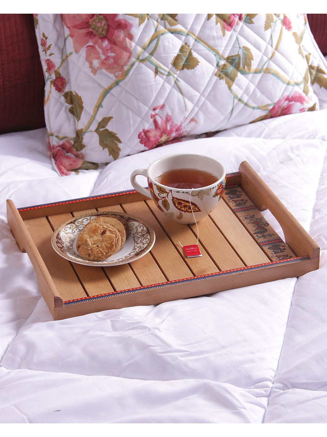 Handcrafted Small Serving Trays Set