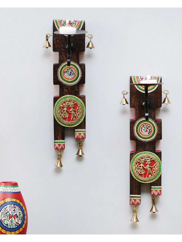 Dhokra Candle Holder Set