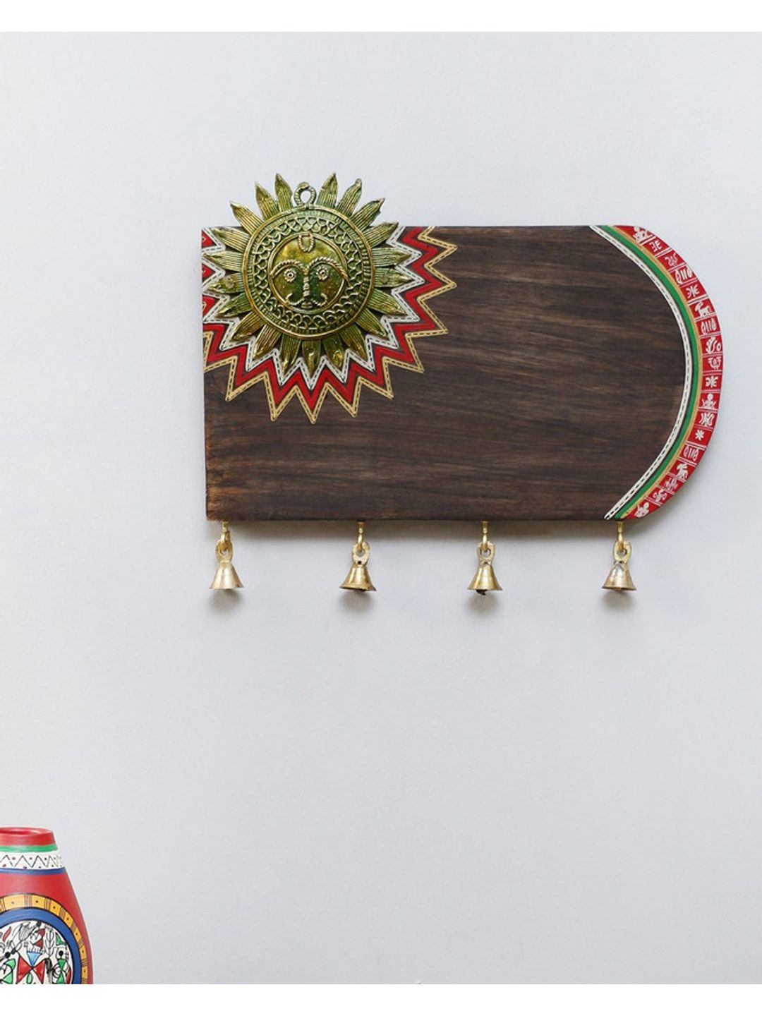 Hand Made Dhokra Sun Name Plate