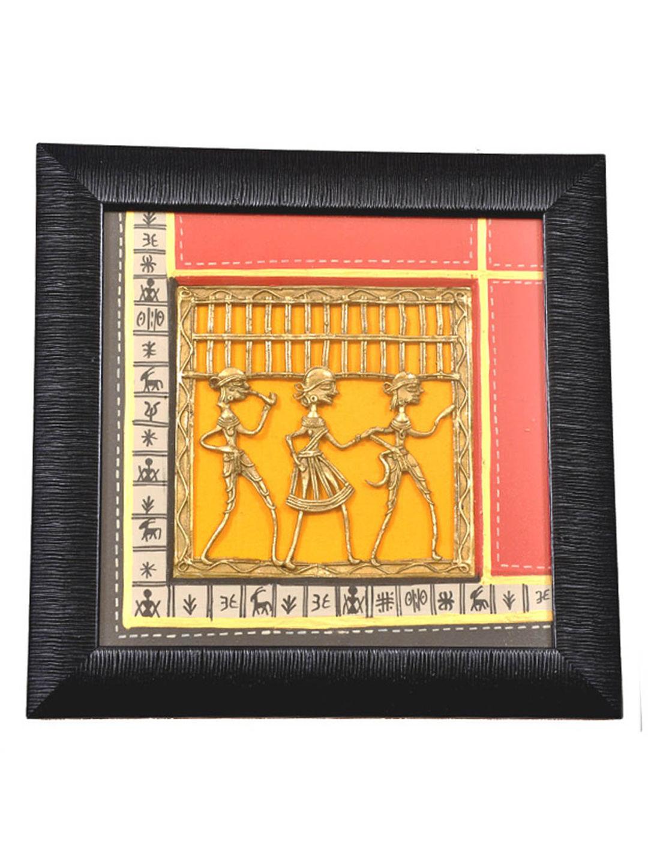 Ethnic Handmade Dhokra Wall Hanging | Vacwd033