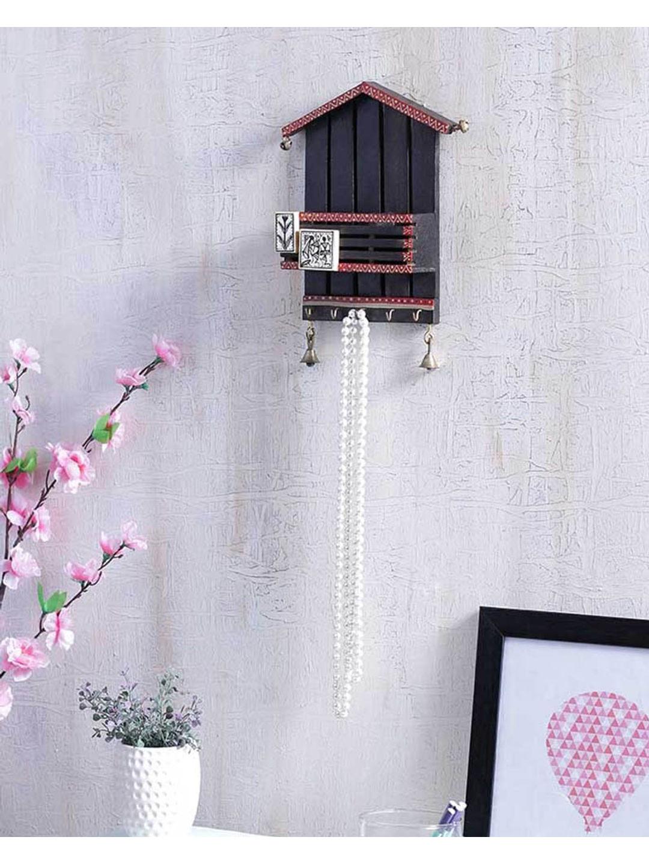 Hut Key Hook with Paper Holder