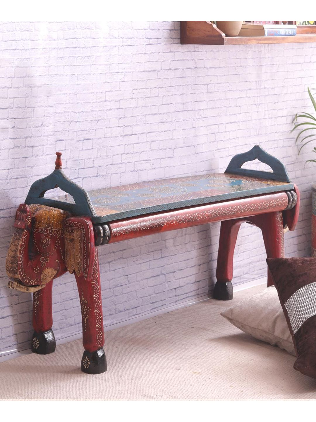 Hand Crafted Rajasthani Double Bench