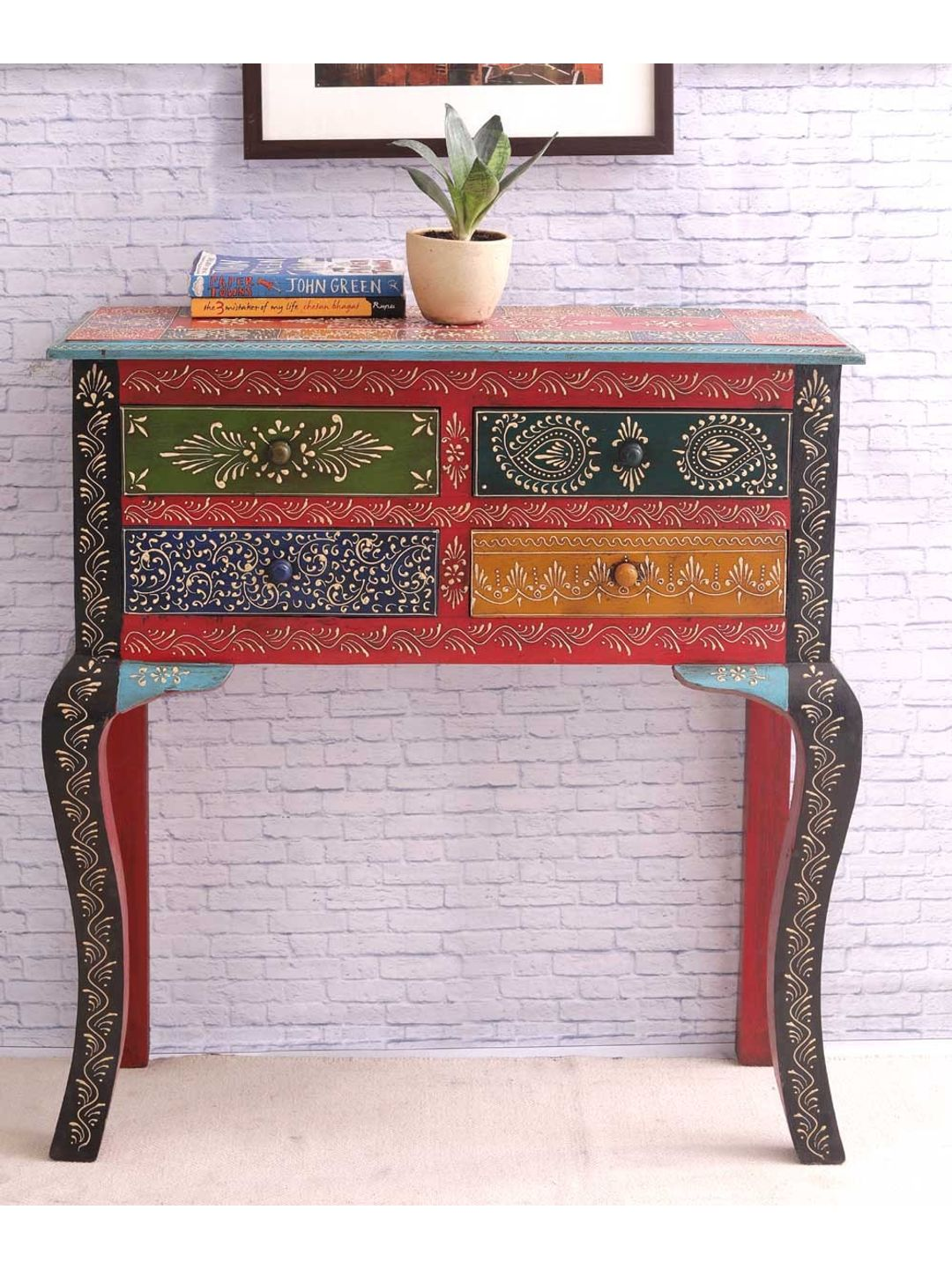 Hand Made Rajasthani Console Table