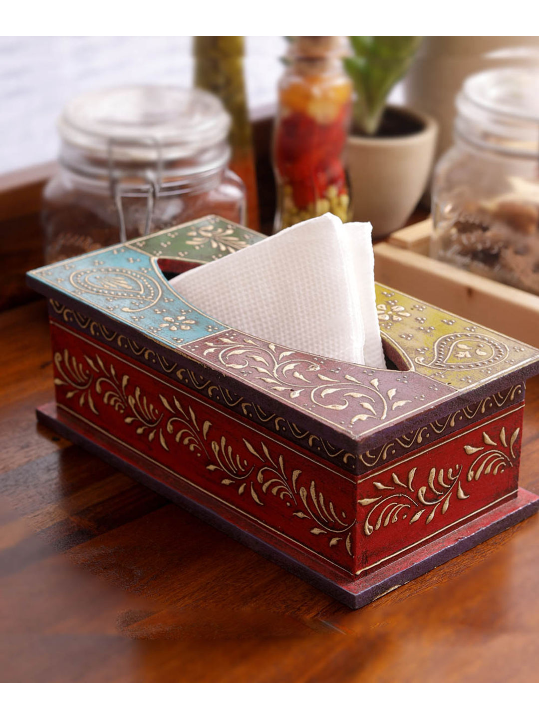 Rajasthani Tissue Box