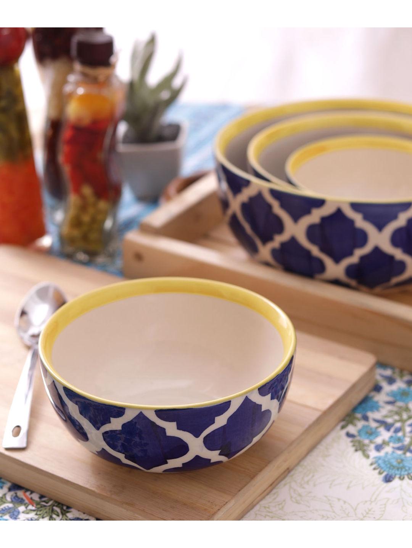 Hand Crafted Ceramic Bowls Set of Four