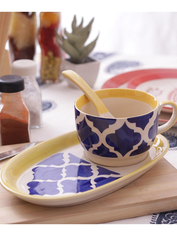 Hand Made Ceramic Soup Set