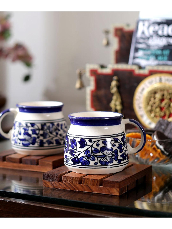 Ceramic Mughal Tea/ Coffee Cups Set of Six